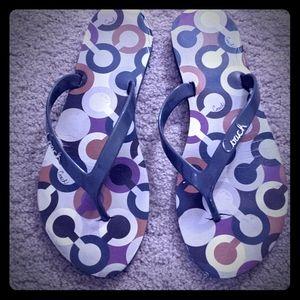 Coach Sandals size 7.5/8